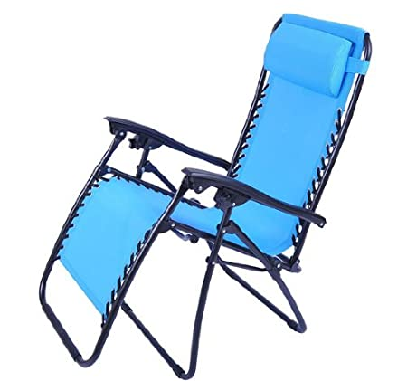 Outsunny Zero Gravity Recliner Lounge Patio Pool Chair - Light Blue at Sears.com