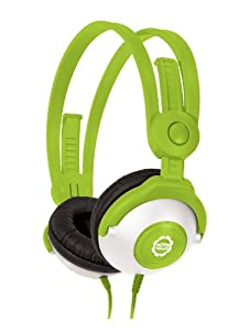 Kidz Gear Wired Headphones For Kids – Green