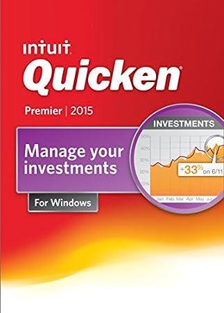 Quicken Premier Personal Finance & Budgeting Software 2015