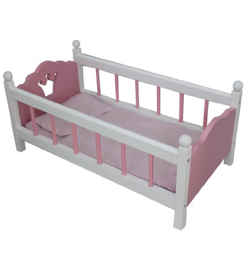 Mommy & Me Doll Bed With Bedding Incl. Fits A 18'' Doll front-171674