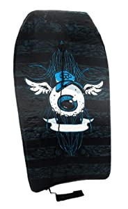 Cool Floating Eyeball with Wings Black Body Board 33 In. from Things2Die4