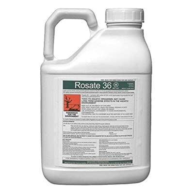 1 X 5l Rosate 36 Very Strong Professional Glyphosate Weedkiller (+ Free Cup & Gloves)