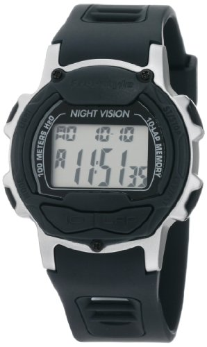 Freestyle Men's FS84996 Predator Round Running Digital Top Buttons Watch