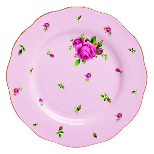 Royal Albert China New Country Roses Vintage Formal Salad Plate, 8.1/3