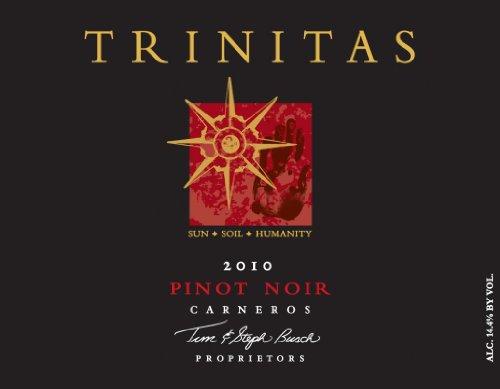 2010 Trinitas Cellars Pinot Noir 750 Ml