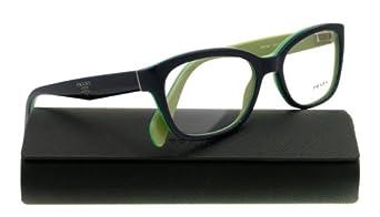 Amazon.com: Prada PR20PV Eyeglasses-QFJ/1O1 Black Gradient