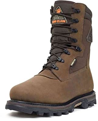 Rocky 9456 Men's BearClaw 3D WP INS 10-in Boot Brown 8 M US