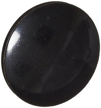 "DimcoGray Black Phenolic Push-Pull Knob Female, Brass Insert: 5/16-18"" Thread x 7/16"" Depth, 1-13/16"" Diameter x 1-3/16"" Height x 5/8"" Hub Dia x 7/8"" Hub Length (Pack of 10)"