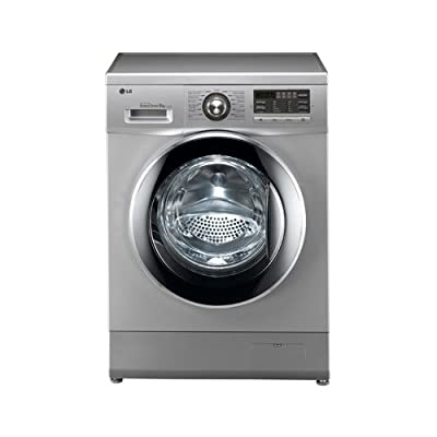 LG F1496TDP24 Fully-automatic Front-loading Washing Machine (8 Kg, Luxury Silver )