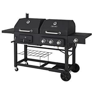Amazon Com Dyna Glo Dgj810csb D Dual Fuel Grill With