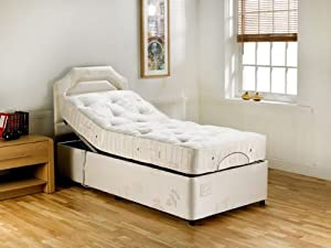 Paige Relaxor Electric Adjustable Flat Pack Bed & Deluxe Pocket Sprung Mattress