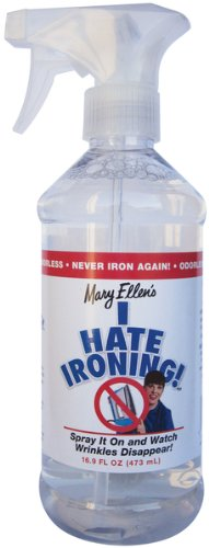 Mary Ellen Products I Hate Ironing Spray Wrinkle