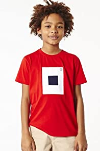 Boy's Short Sleeve Nautical Flag