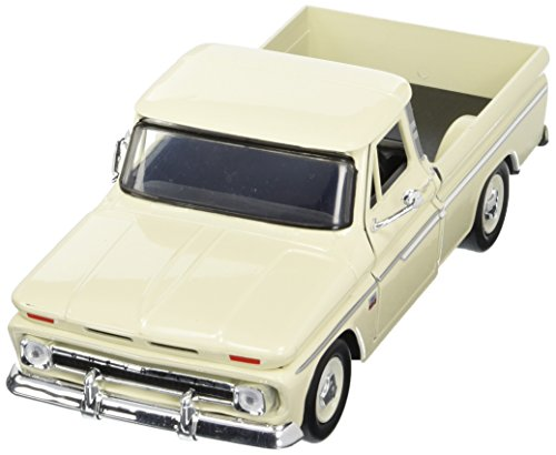 Showcasts Collectibles 1966 Chevy C10 Fleetside Pickup Truck 1/24 Diecast Model Car Cashmere (Classic Cars Models compare prices)
