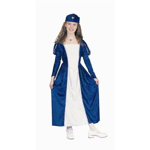 RG Costumes 91164-BL-S Renaissance Queen Blue Costume - Size Child-Small