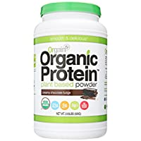 Orgain Organic Protein Plant-Based Powder, Creamy Chocolate Fudge, 2.03 Pound