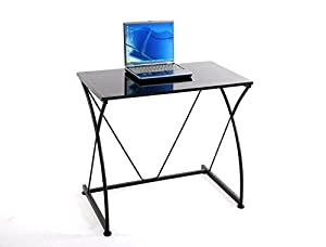 Krasavic Bedding Foldable Computer Desk Split-out Table Top with Multiple Angle Tilting and Power Coated Finish from Krasavic