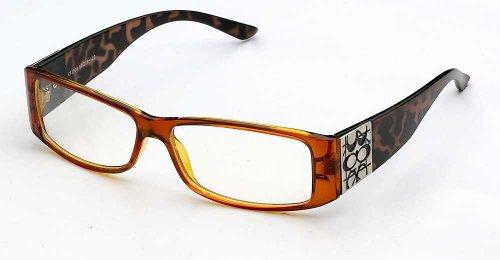 Newbee Fashion - Ig Simple Plastic Clear Lens High Fashion Glasses