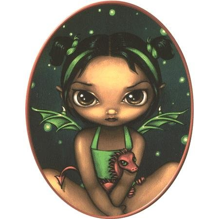 Jasmine's Green Dragonling Sticker - Buy Jasmine's Green Dragonling Sticker - Purchase Jasmine's Green Dragonling Sticker (cooolstuff4u, Toys & Games,Categories,Arts & Crafts,Stamps & Stickers)