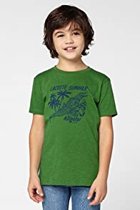Boy's Short Sleeve Alligator Graphic T-Shirt