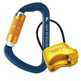 10 Silver S Carabiner Camp Spring Snap Clip Hook Keychain Keyring Climbing
