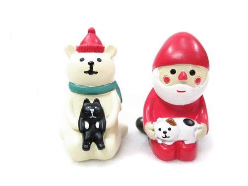RoomClip商品情報 - DECOLE/デコレ☆クリスマス★まったりマスコット/子猫とまったり《サンタ、シロクマ》セット