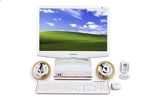 Hyrican SET00300 Desktop-PC (Intel Atom 230, 1,6GHz, 1GB RAM, 160GB HDD, shared VGA SiS672, DVD+- DL RW, XP Home)