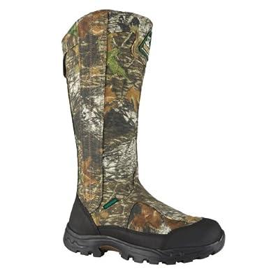 "Rocky Men's 16"" ProLight Side Zip Waterprf SnakeProof Boot-1580 (M8)"