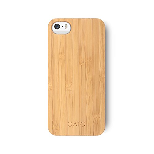 iATO Bamboo wood cover case