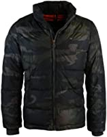 Tommy Hilfiger Mens Camo Performance Down Puffer Coat