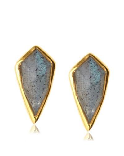 Katie Diamond Jewelry Labradorite Jada Studs As You See