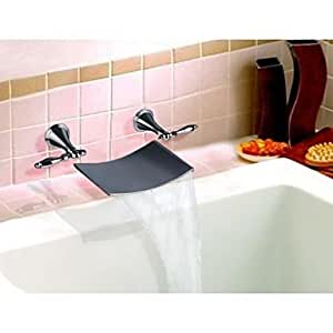 Vasca da bagno rubinetti contemporaneo cascata - Rubinetti bagno ottone ...