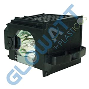 GloWatt 915P049010 Replacement Lamp with Housing for Mitsubishi Television