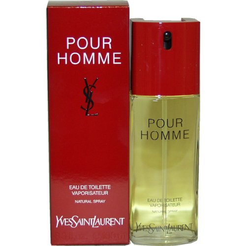 YSL Pour Homme by Yves Saint Laurent Eau de Toilette Spray 100ml