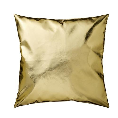 Kissen, gold, 45x45cm