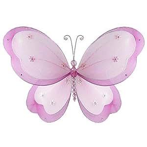 """nylon en capas decoración, Magenta Hibiscus, Medio, 13 """"x 8"""" : Baby"""