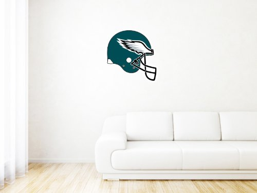 Philadelphia Eagles NFL Logo Wall Graphic Decal Sticker (24 x 24)