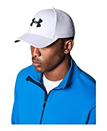 Men\'s Under Armour Blitzing II Stretch Fit Cap, Black (001), Large/X-Large