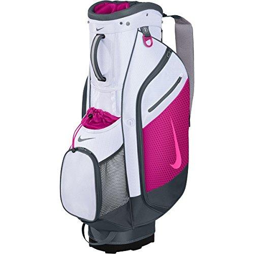 132453643e2f Nike bg0365-166 Women S Bg0365 166 Sport Cart Iii Golf Bag White Pink Pow  Fireberry- Price in India