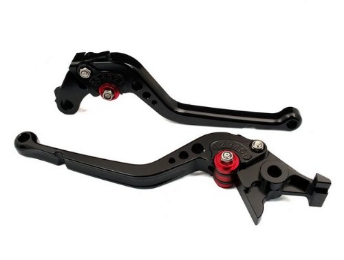 PCS Black CNC Long Clutch & Brake Levers Set Fit for Honda GB250