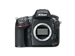"""Nikon D800 - Cámara réflex digital de 36.3 Mp (pantalla 3.2""""), color negro - sólo cuerpo"""