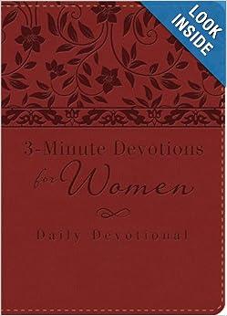 3-Minute Devotions for Women: Daily Devotional