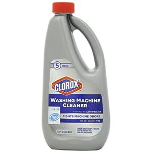 clorox washing machine cleaner