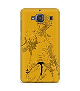Amez designer printed 3d premium high quality back case cover for Xiaomi Redmi 2S (Remeo ze a junyoung)