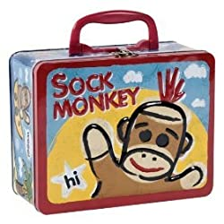 SOCK MONKEY KEEPSAKE BOX BY SCHYLLING