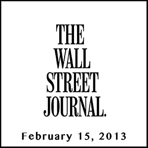 The Morning Read from The Wall Street Journal, February 15, 2013 | [The Wall Street Journal]