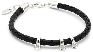 Esprit Charm Bracelet Leather ESNL91243A180 Silver Bracelet