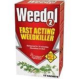 Weedol Fast Acting Weedkiller 12 Sachets Carton