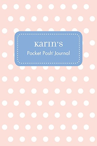 Karin's Pocket Posh Journal, Polka Dot