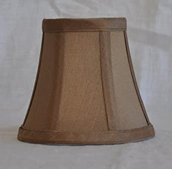 urbanest 1100463 chandelier mini lamp shade 5 inch bell clip on. Black Bedroom Furniture Sets. Home Design Ideas